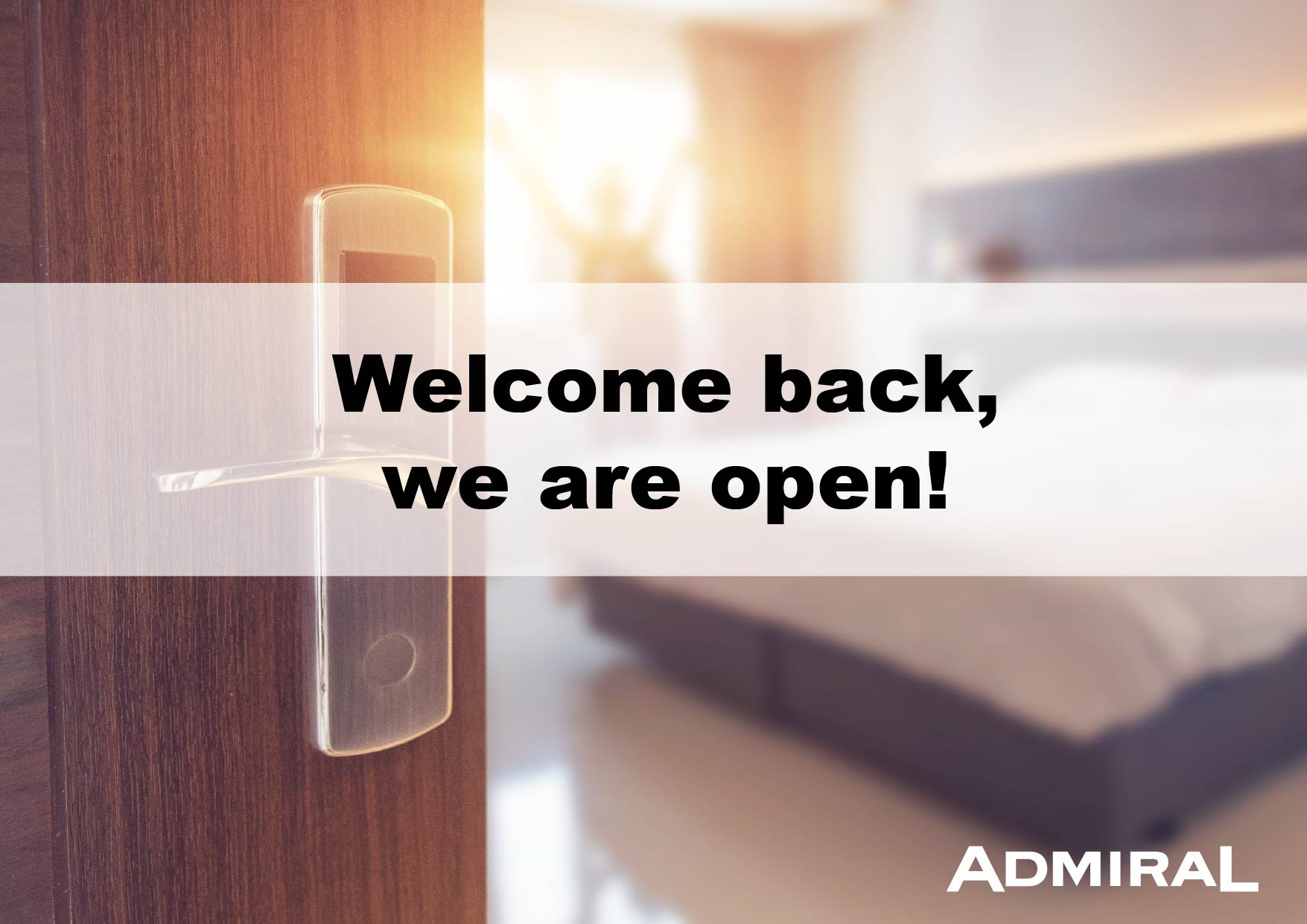 Welcome back, we are open!
